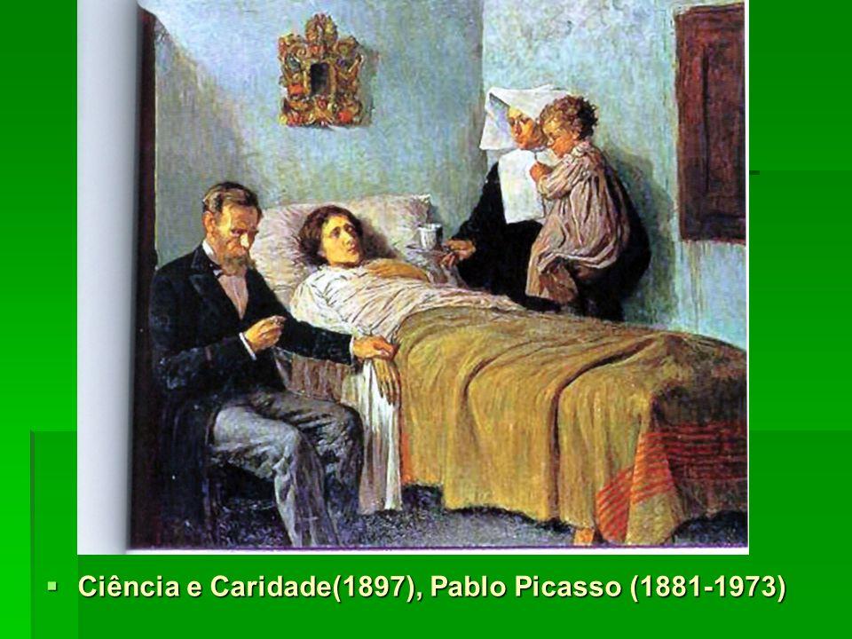 Ciência e Caridade(1897), Pablo Picasso (1881-1973)