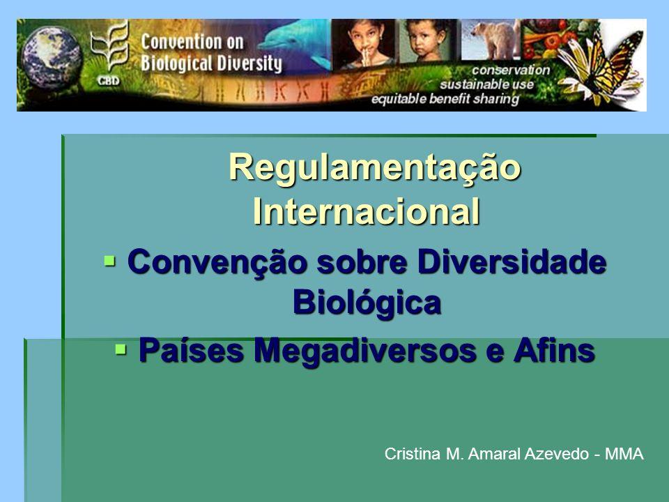 Convenção sobre Diversidade Biológica Países Megadiversos e Afins