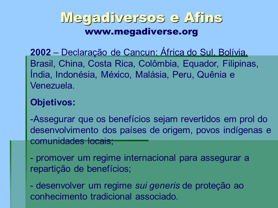 Megadiversos e Afins www.megadiverse.org