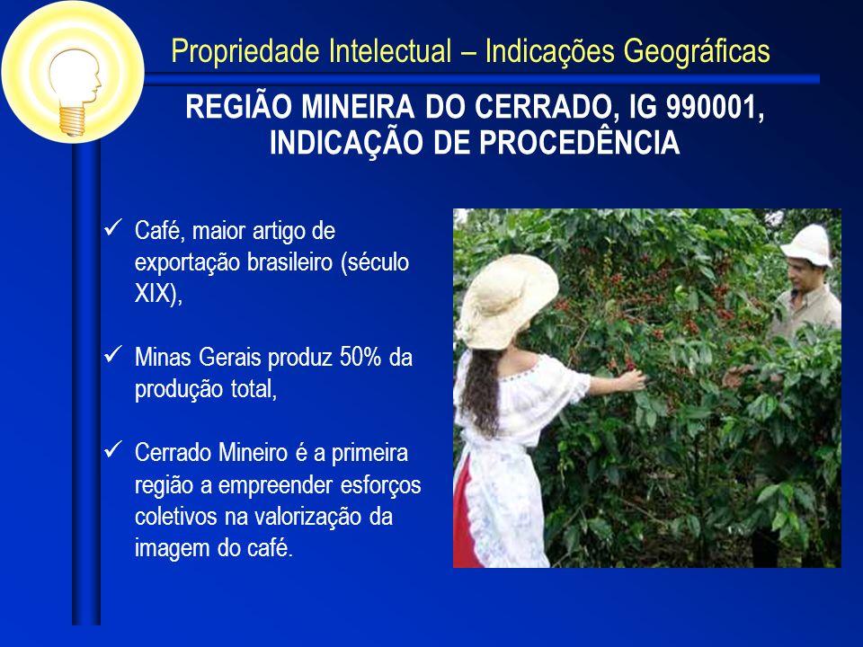 REGIÃO MINEIRA DO CERRADO, IG 990001, INDICAÇÃO DE PROCEDÊNCIA