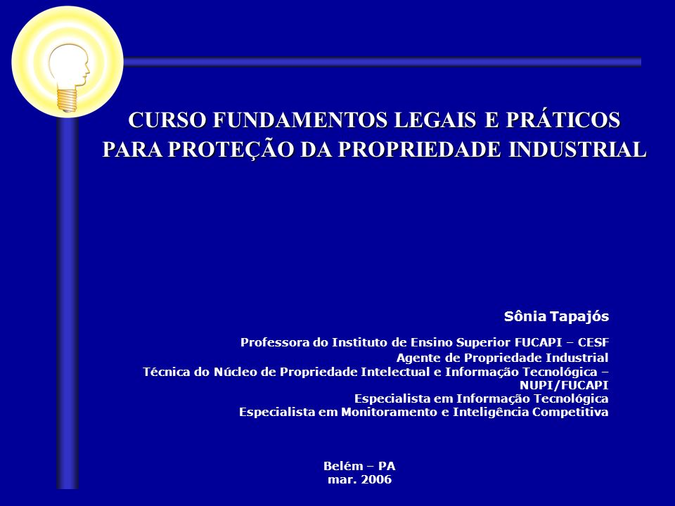 Professora do Instituto de Ensino Superior FUCAPI – CESF