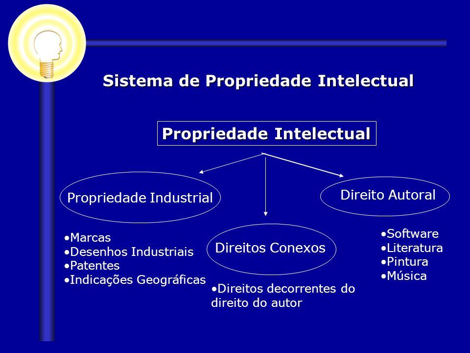 Sistema de Propriedade Intelectual Propriedade Intelectual