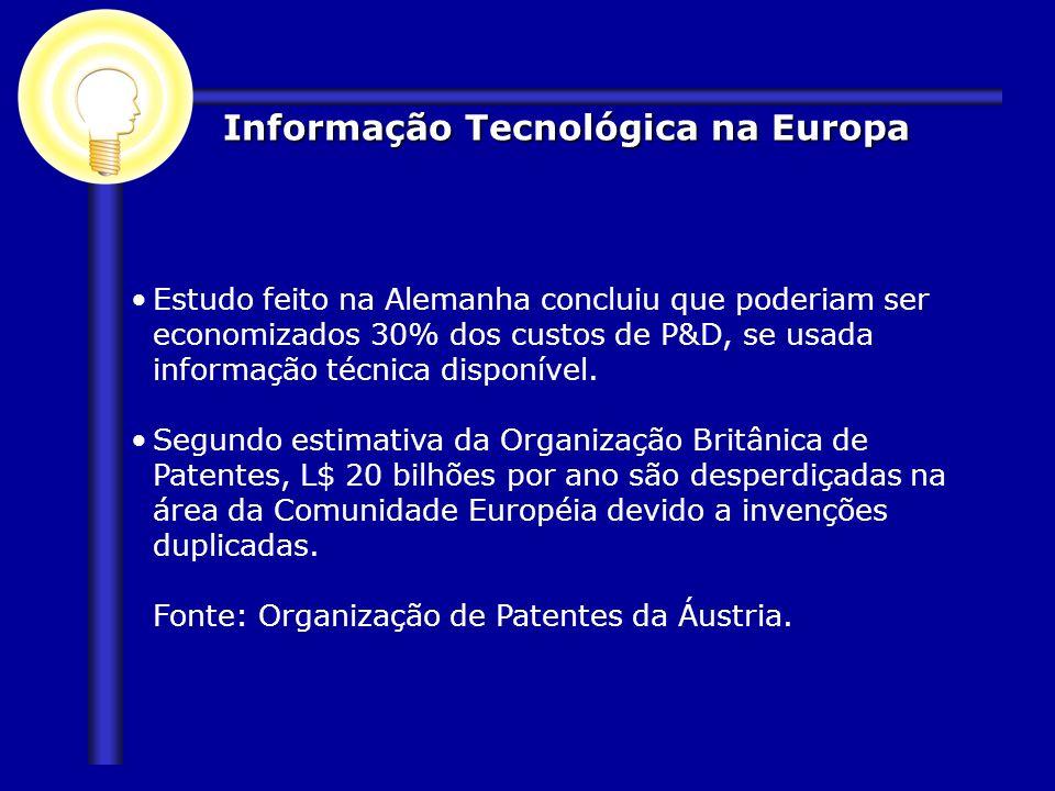 Informação Tecnológica na Europa