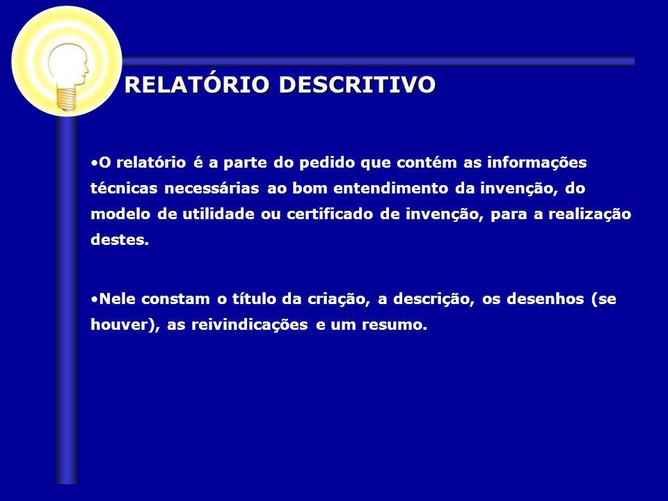 RELATÓRIO DESCRITIVO