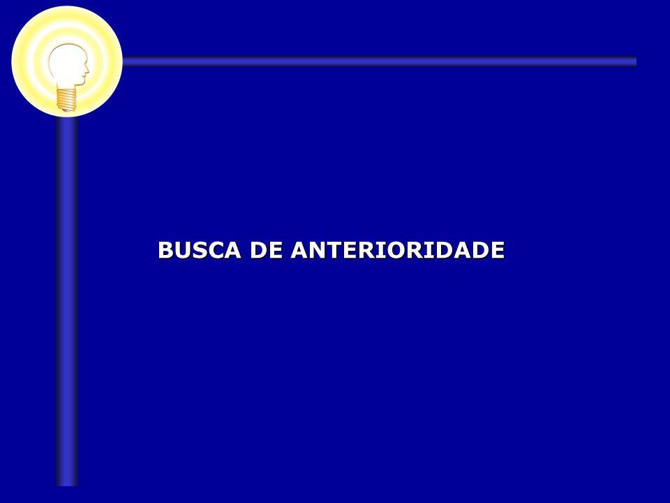 BUSCA DE ANTERIORIDADE