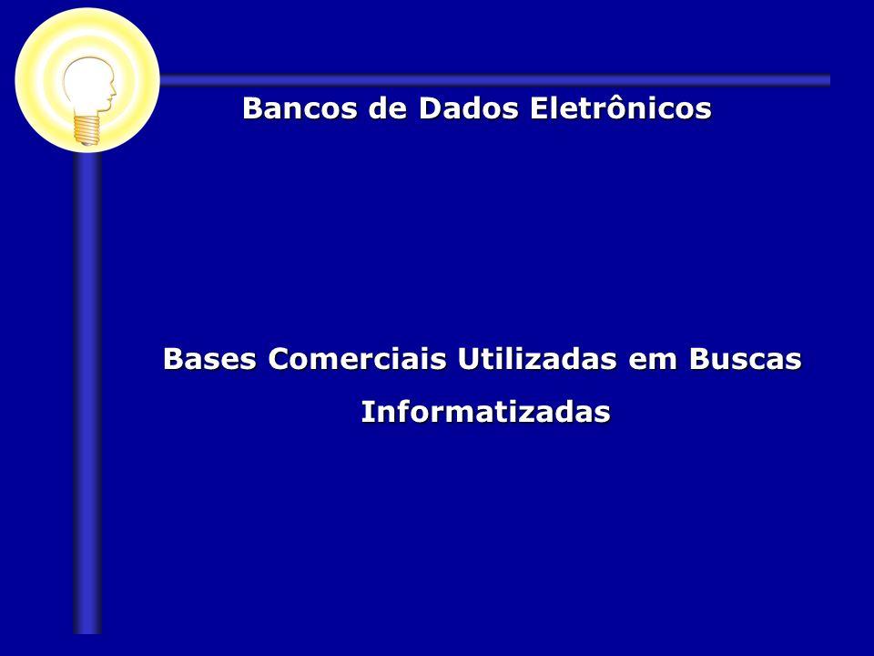 Bancos de Dados Eletrônicos