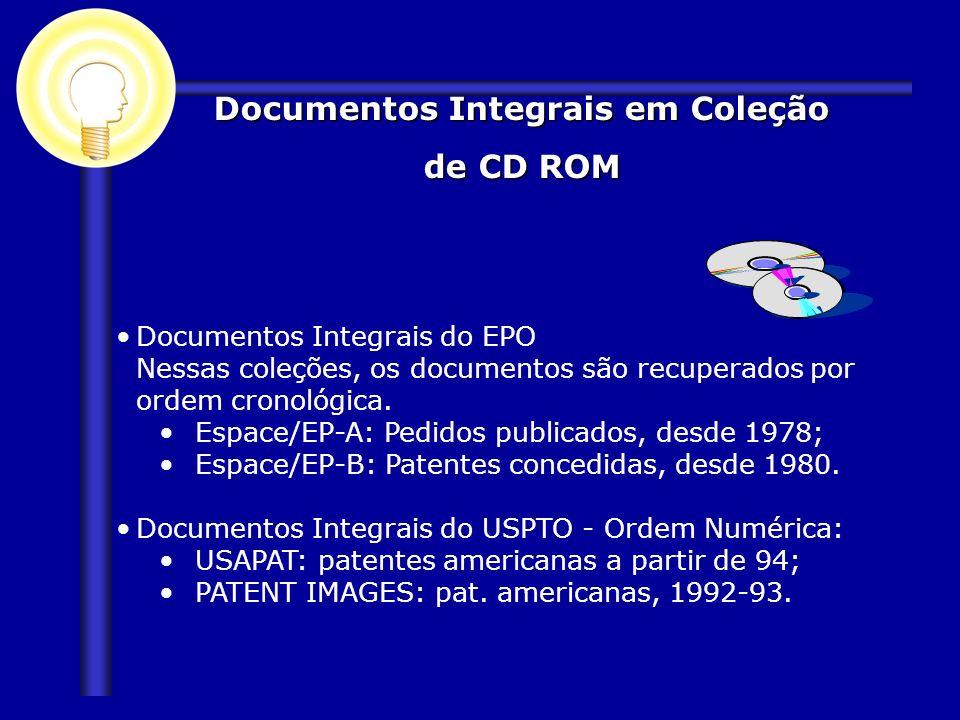 Documentos Integrais em Coleção de CD ROM