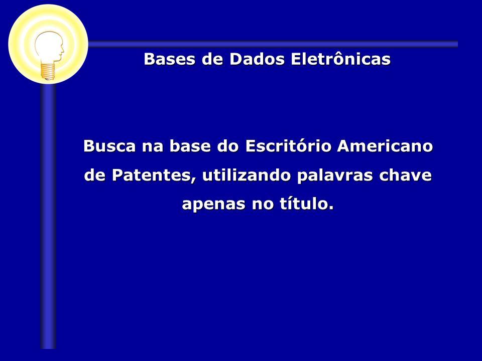 Bases de Dados Eletrônicas