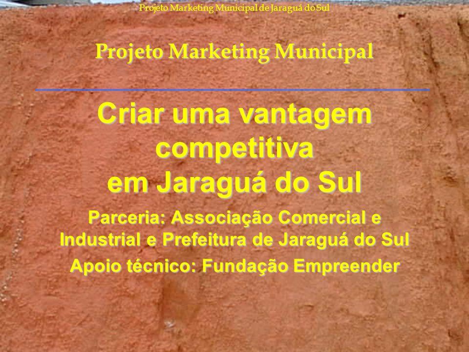 Criar uma vantagem competitiva em Jaraguá do Sul