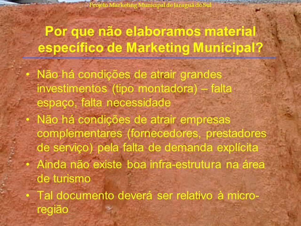 Por que não elaboramos material específico de Marketing Municipal