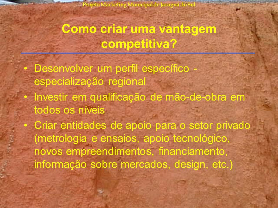 Como criar uma vantagem competitiva
