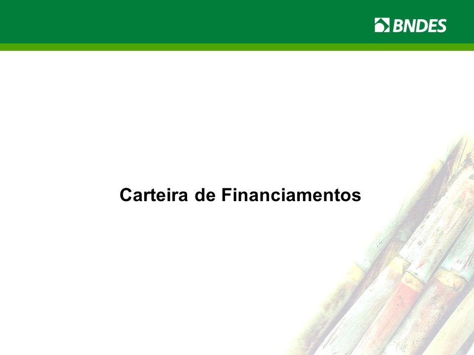 Carteira de Financiamentos