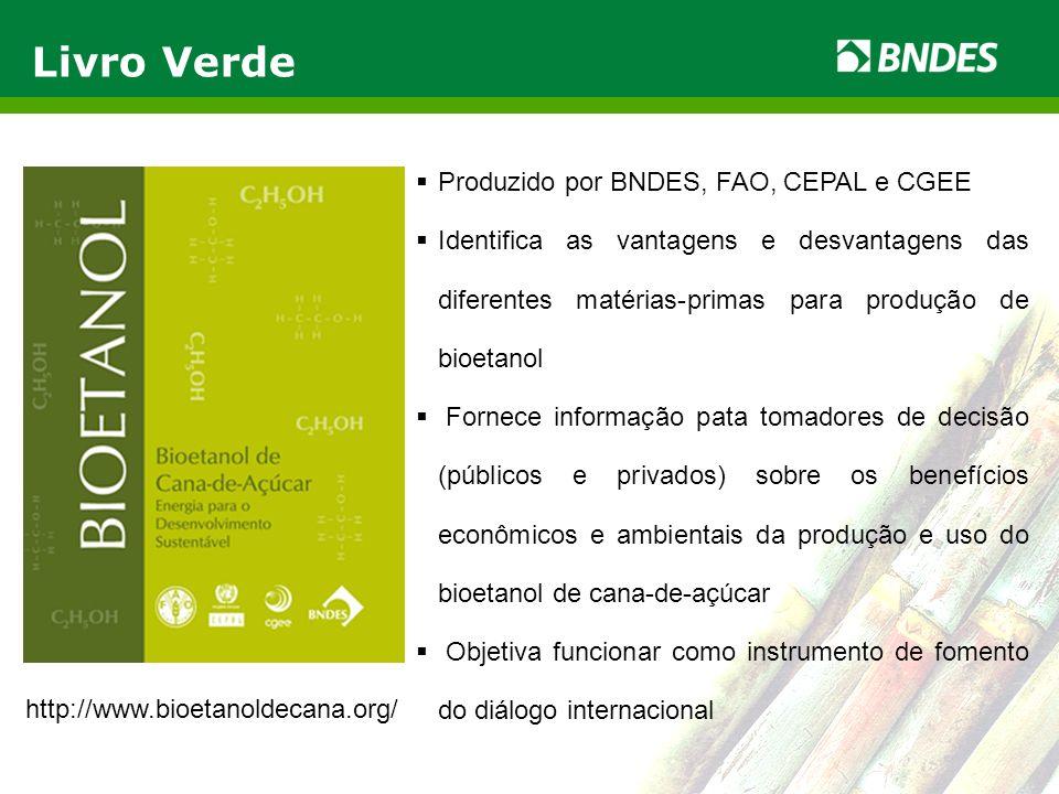 Livro Verde Produzido por BNDES, FAO, CEPAL e CGEE