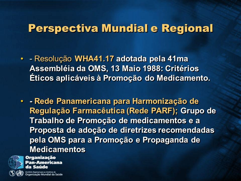 Perspectiva Mundial e Regional