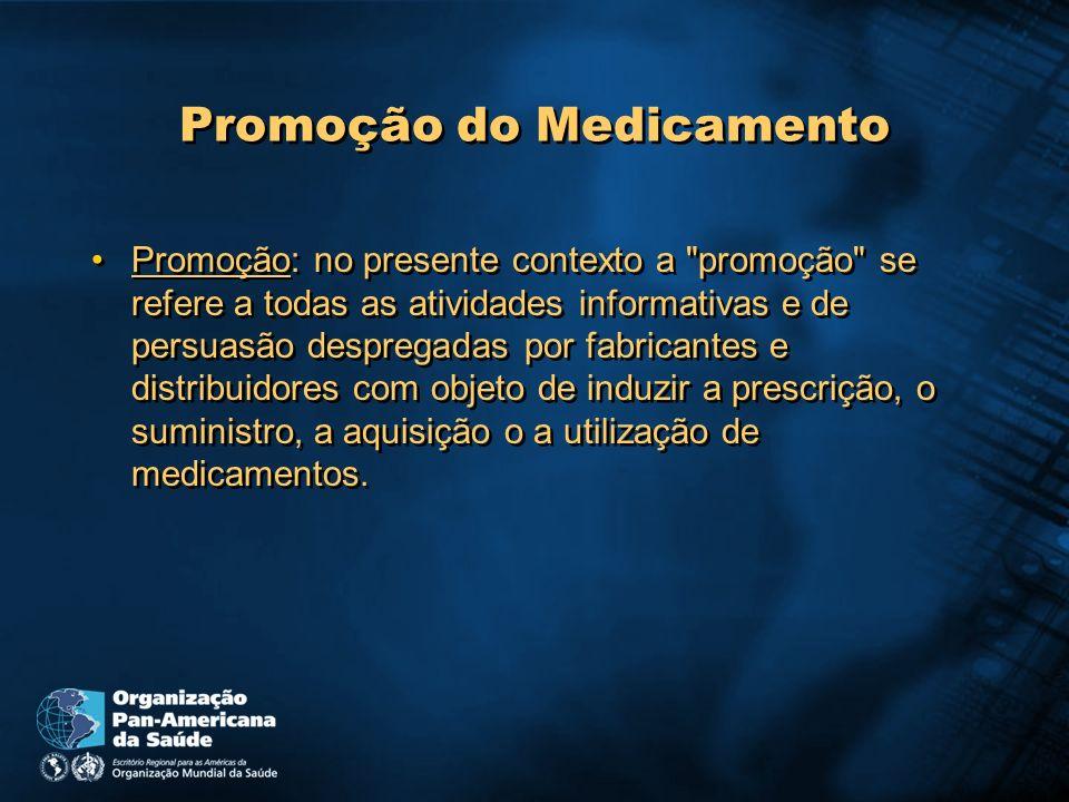 Promoção do Medicamento
