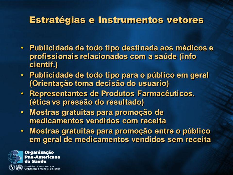 Estratégias e Instrumentos vetores