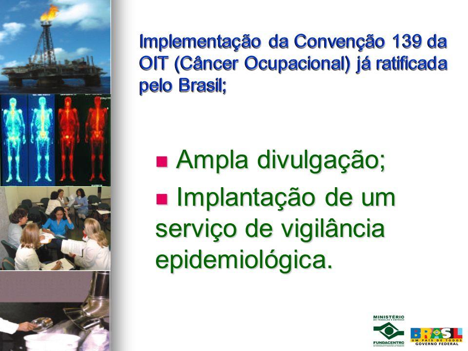 Implantação de um serviço de vigilância epidemiológica.
