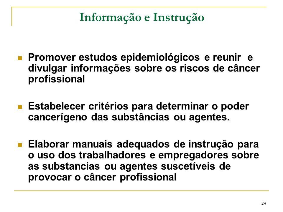 Informação e Instrução