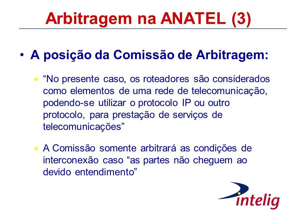 Arbitragem na ANATEL (3)