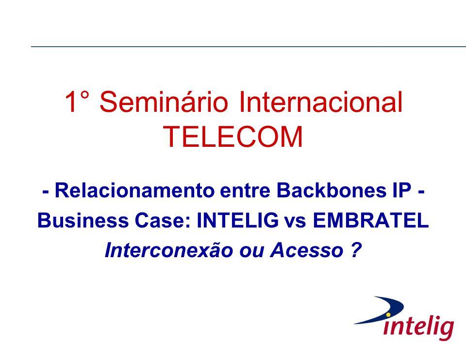 1° Seminário Internacional TELECOM