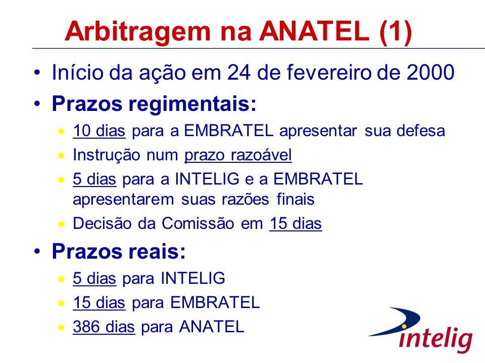 Arbitragem na ANATEL (1)