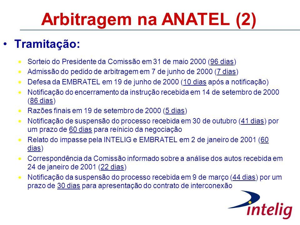 Arbitragem na ANATEL (2)
