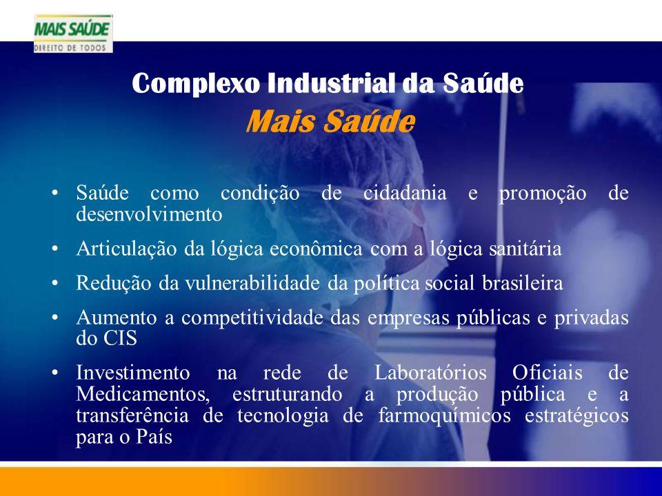 Complexo Industrial da Saúde Mais Saúde