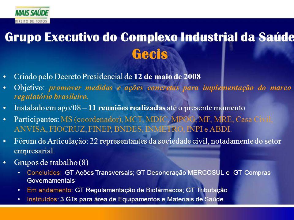 Grupo Executivo do Complexo Industrial da Saúde Gecis