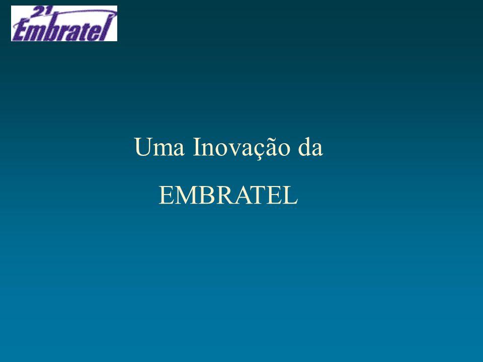 Uma Inovação da EMBRATEL