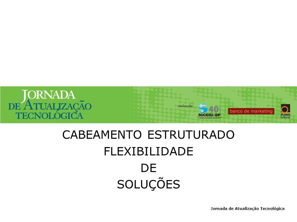 CABEAMENTO ESTRUTURADO FLEXIBILIDADE DE SOLUÇÕES