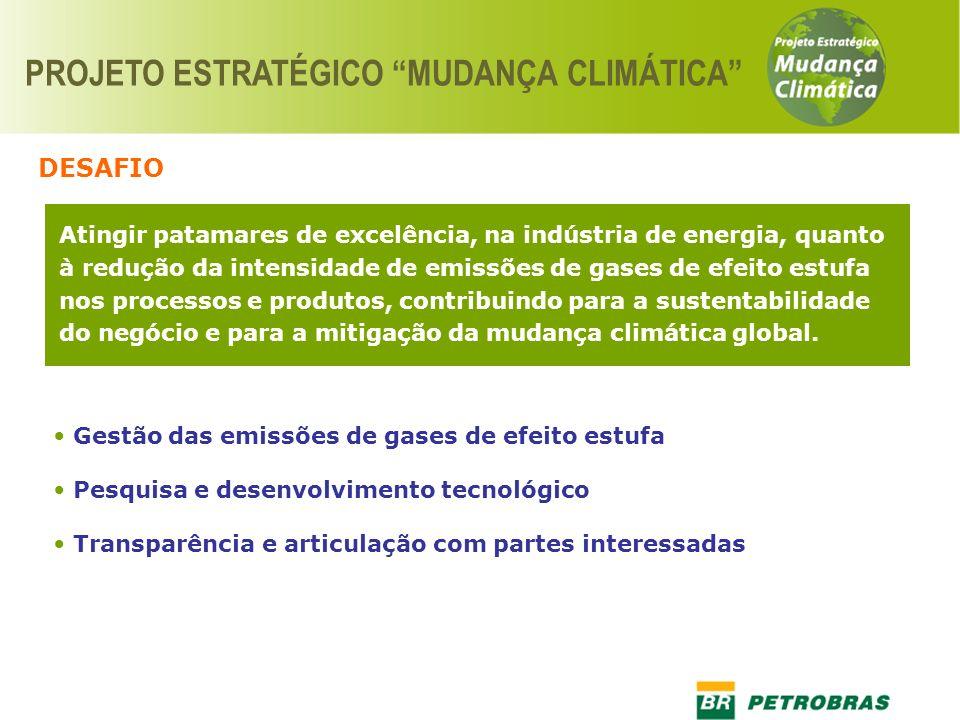 PROJETO ESTRATÉGICO MUDANÇA CLIMÁTICA