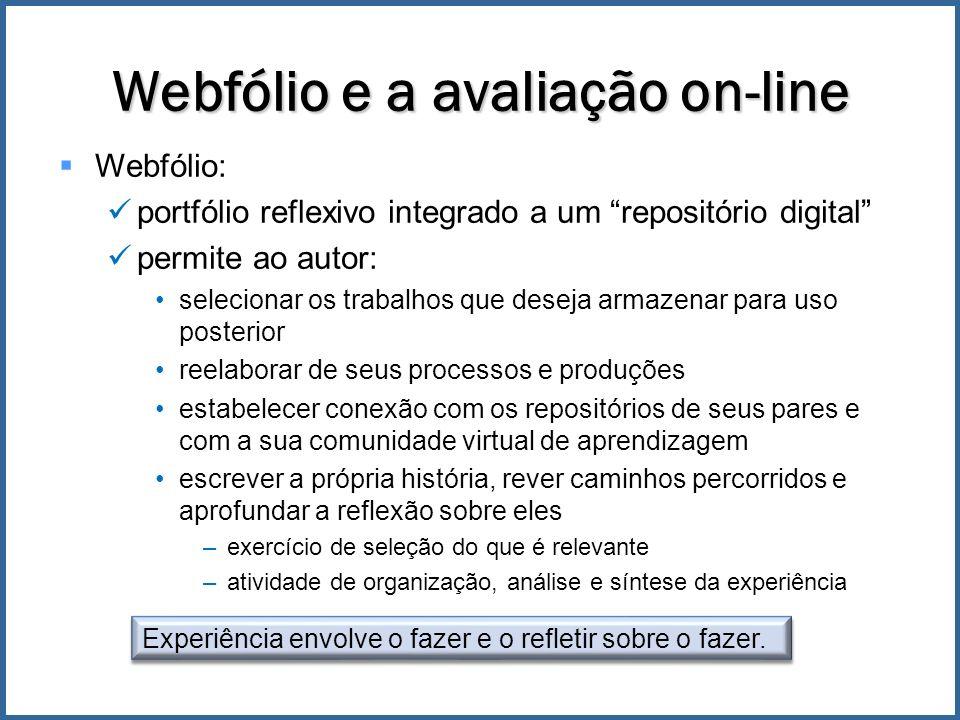 Webfólio e a avaliação on-line