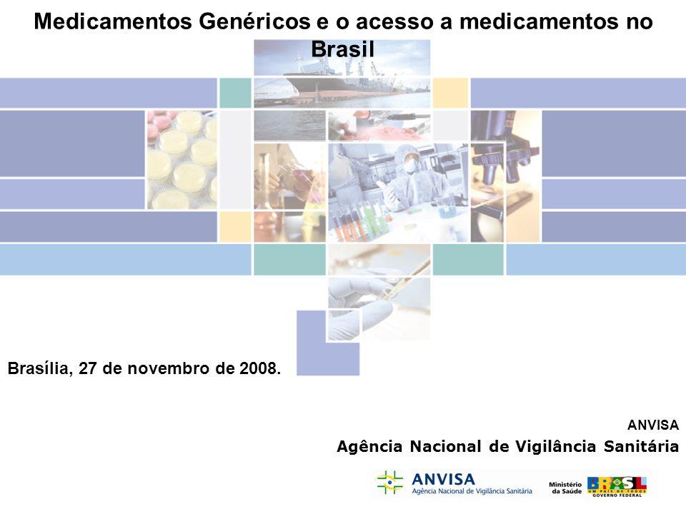 Medicamentos Genéricos e o acesso a medicamentos no Brasil
