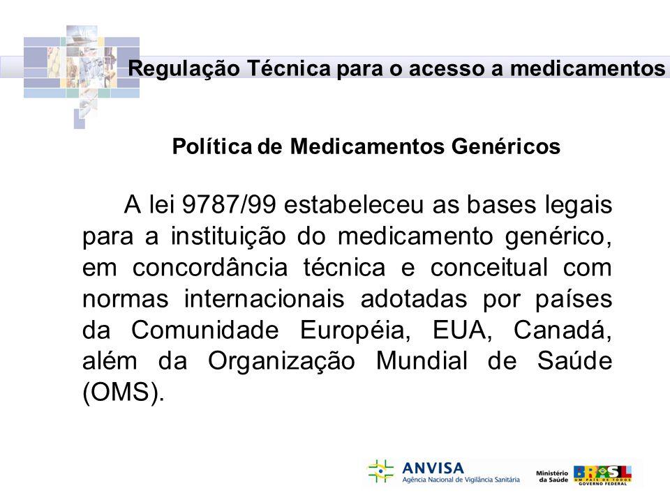 Política de Medicamentos Genéricos