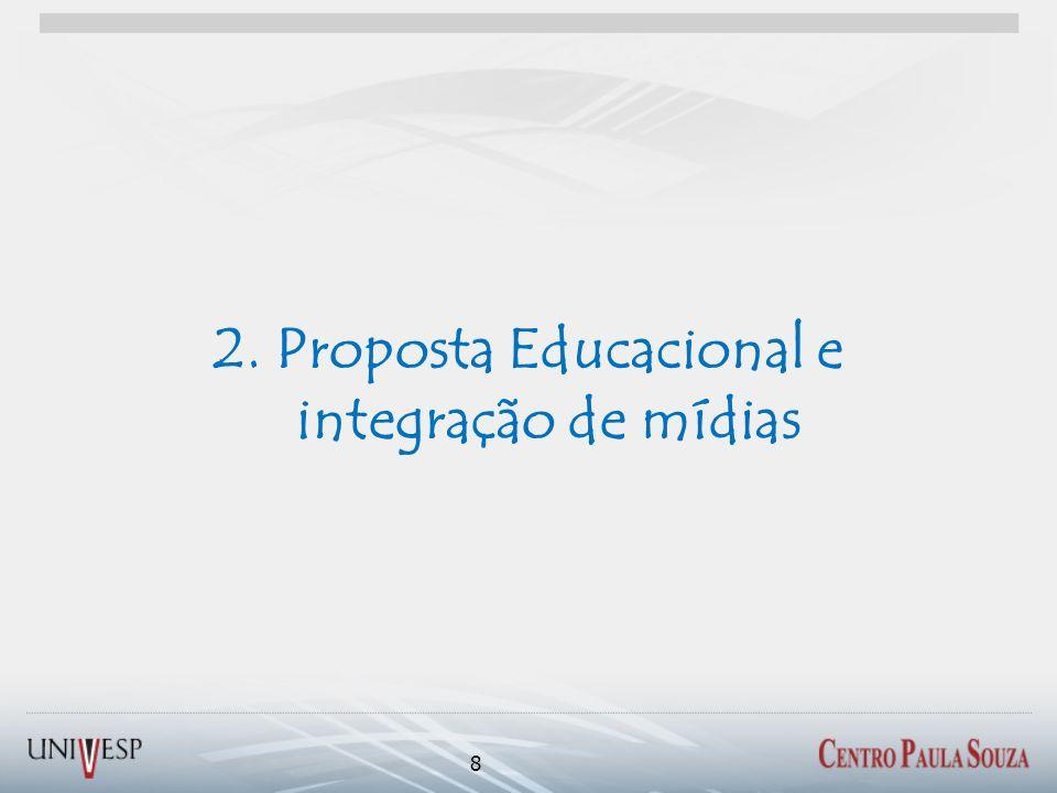 2. Proposta Educacional e integração de mídias
