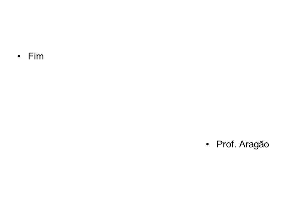 Fim Prof. Aragão