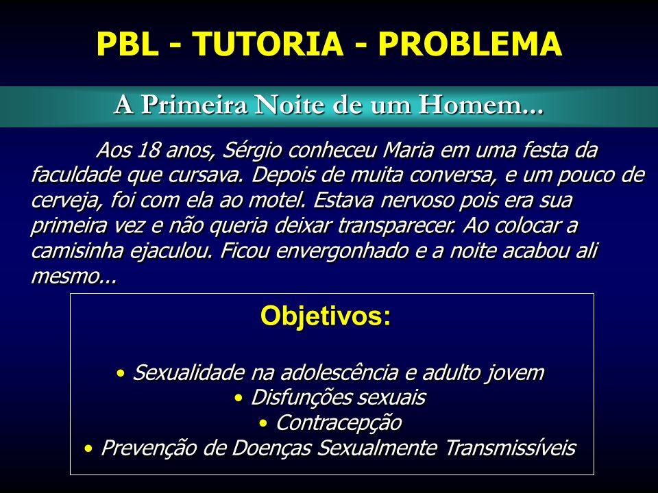PBL - TUTORIA - PROBLEMA A Primeira Noite de um Homem...