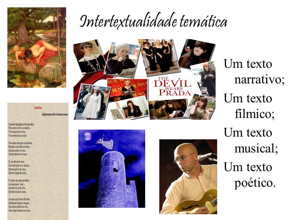 Intertextualidade temática
