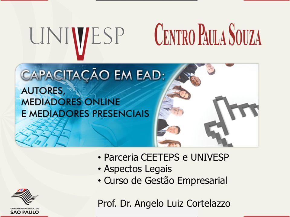 Prof. Dr. Dilermando Piva - CEETEPS Prof. Dr. Waldomiro Loyolla - SES