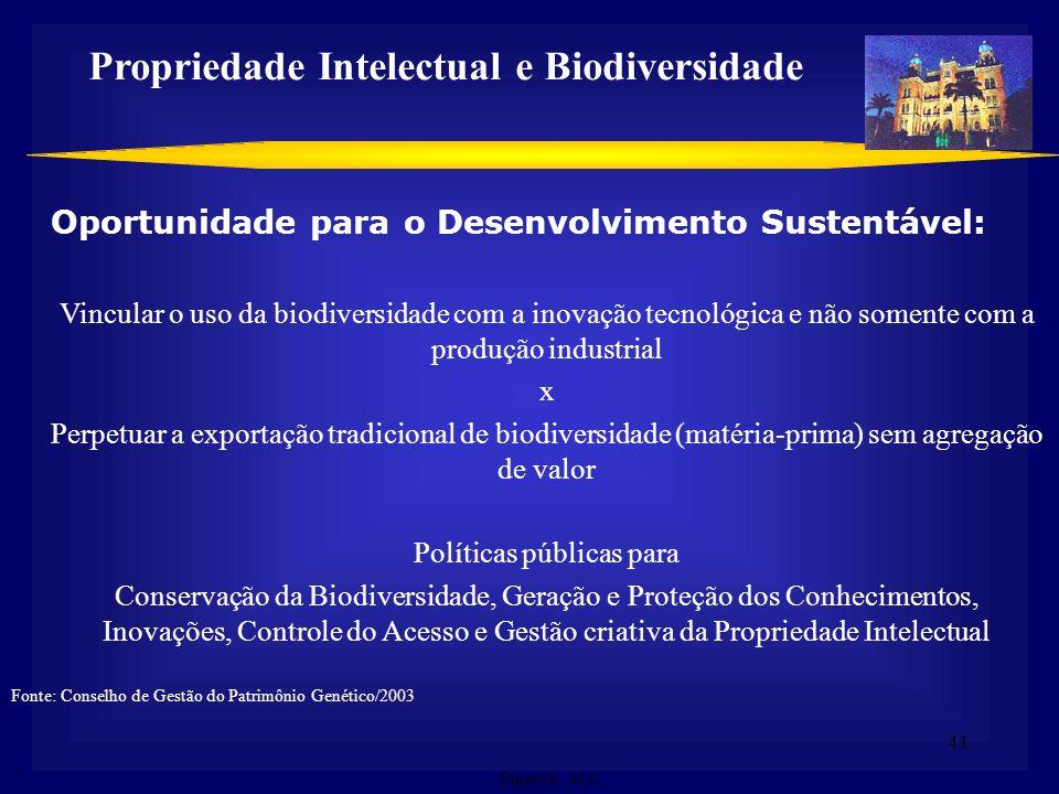 Propriedade Intelectual e Biodiversidade