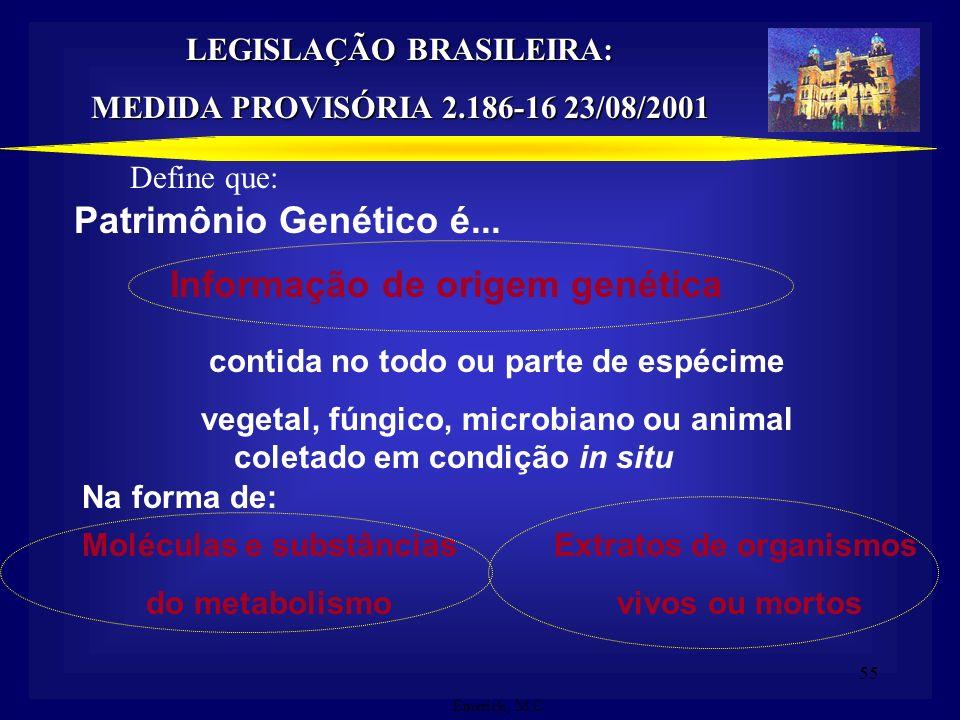 Informação de origem genética