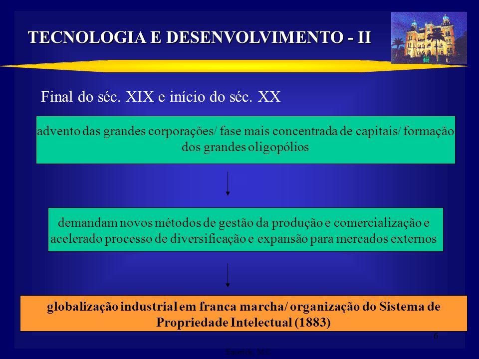 TECNOLOGIA E DESENVOLVIMENTO - II