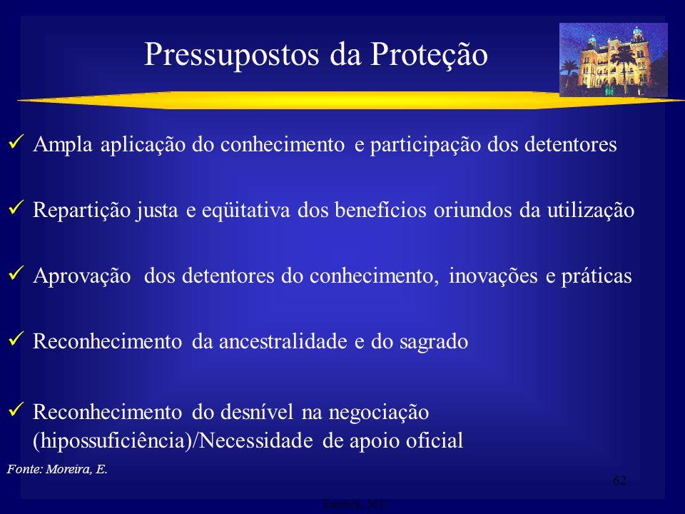 Pressupostos da Proteção
