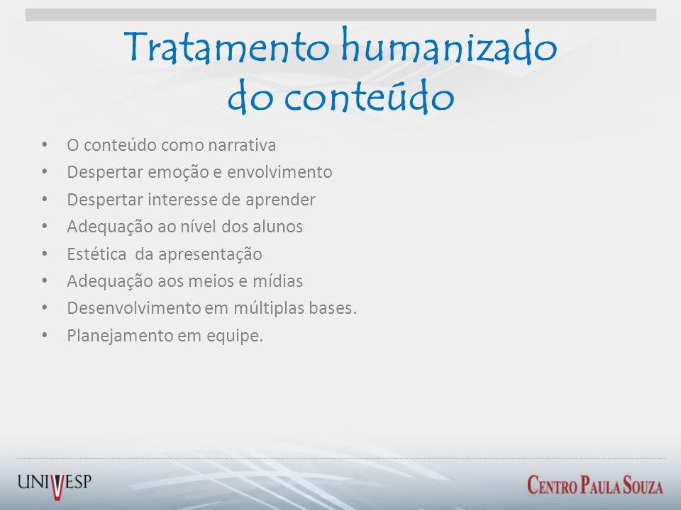 Tratamento humanizado do conteúdo