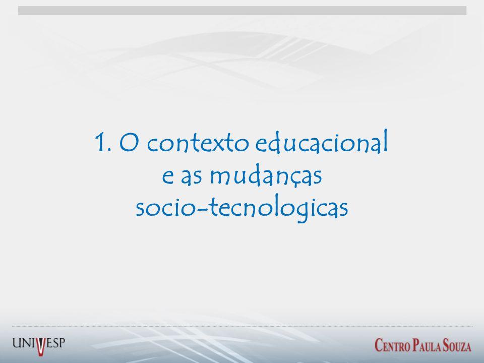 1. O contexto educacional
