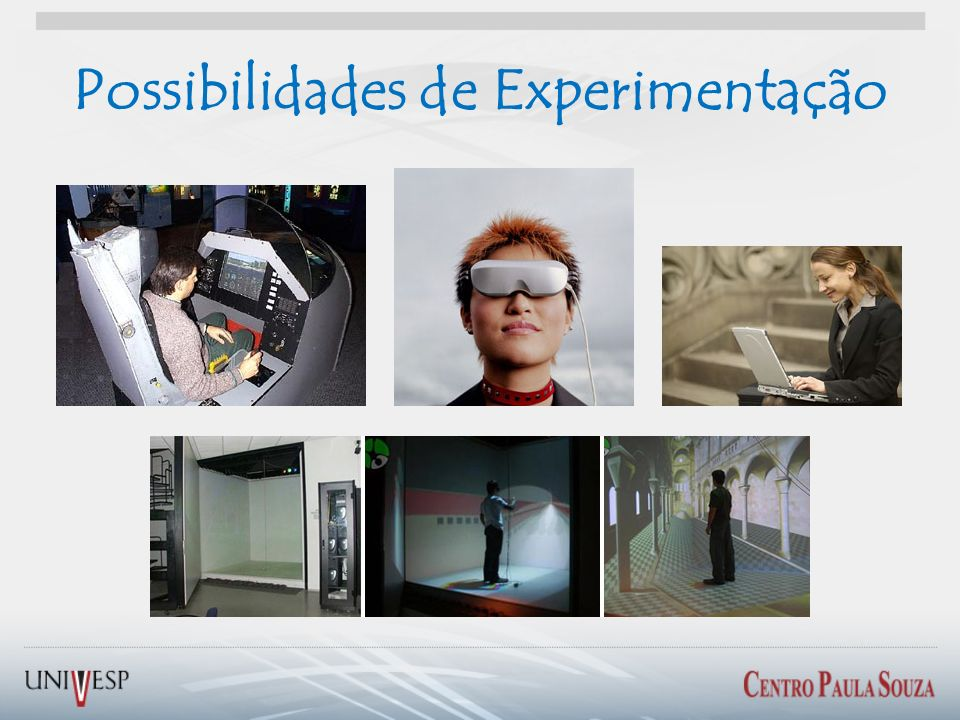 Possibilidades de Experimentação