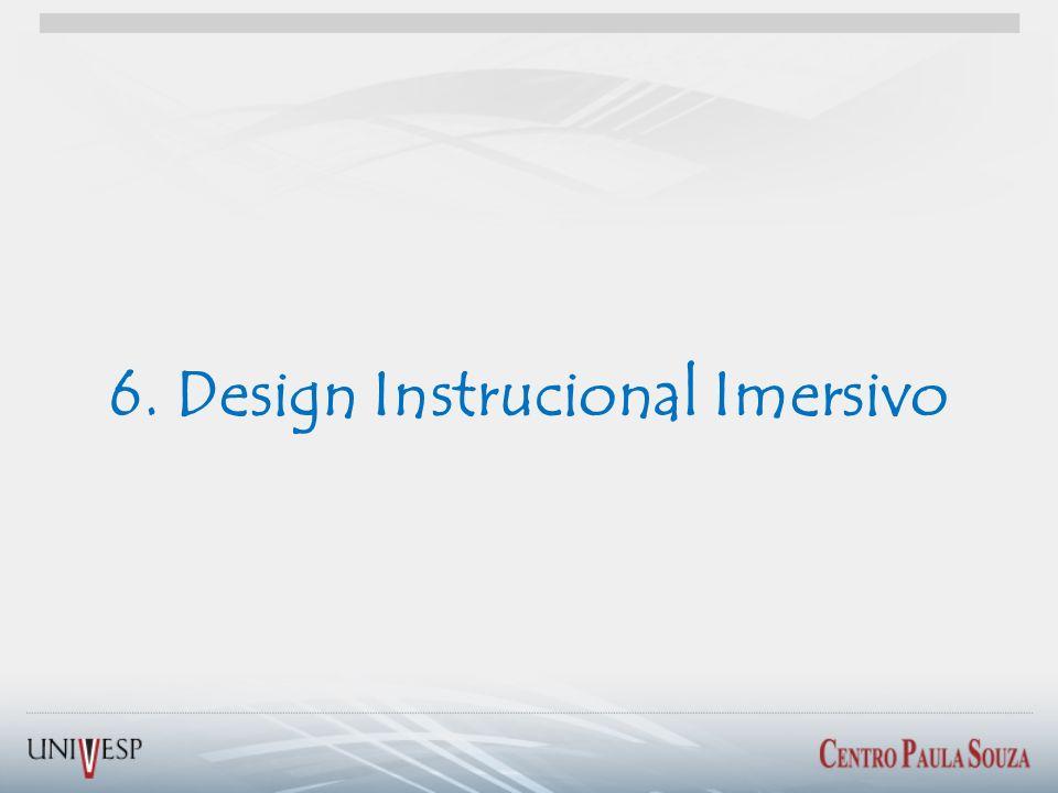 6. Design Instrucional Imersivo