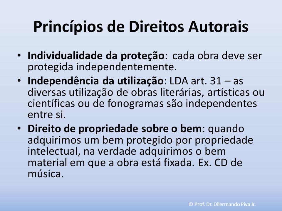 Princípios de Direitos Autorais