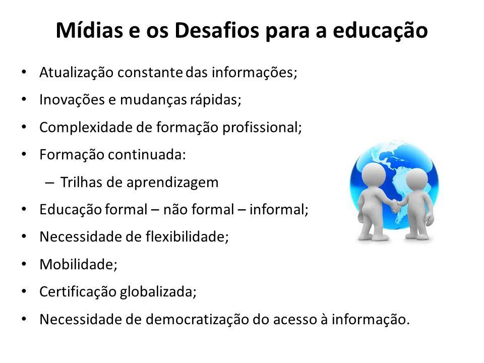 Mídias e os Desafios para a educação