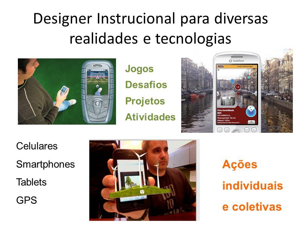 Designer Instrucional para diversas realidades e tecnologias